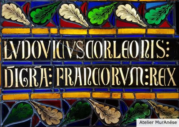 Groult Isingrini Vitrail Restauration vitraux Monument Historique Muranése