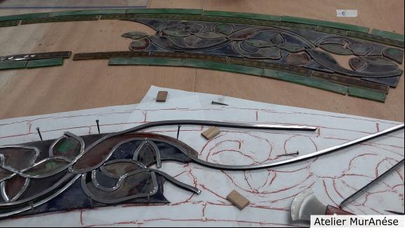 Groult Isingrini Vitrail Restauration vitraux Muranése