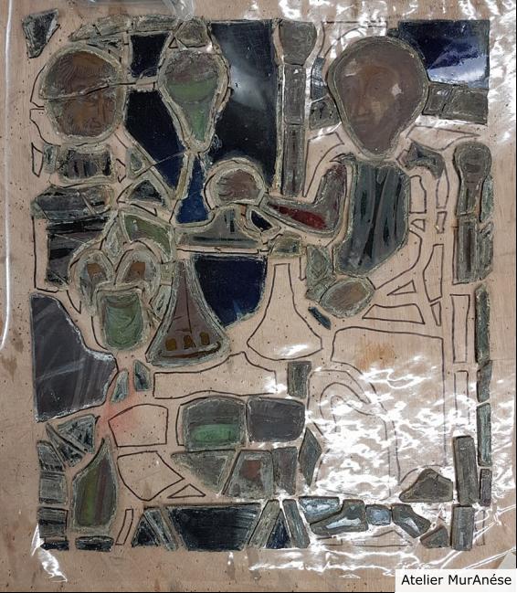 Groult Isingrini Vitrail Restauration vitraux verre Muranése
