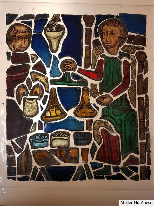 Groult Isingrini Vitrail Restauration vitraux verres Muranése