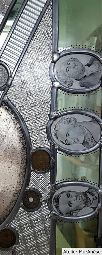 Groult Isingrini vitrail créa