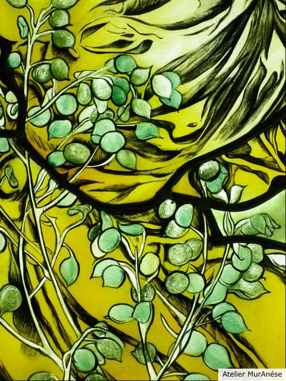 Groult Isingrini vitraux créations vitrail mucha